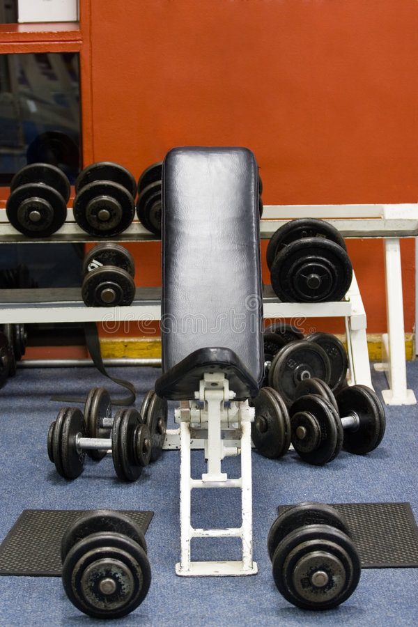 Free Fitness Gym Weights Stock Photography - 915722