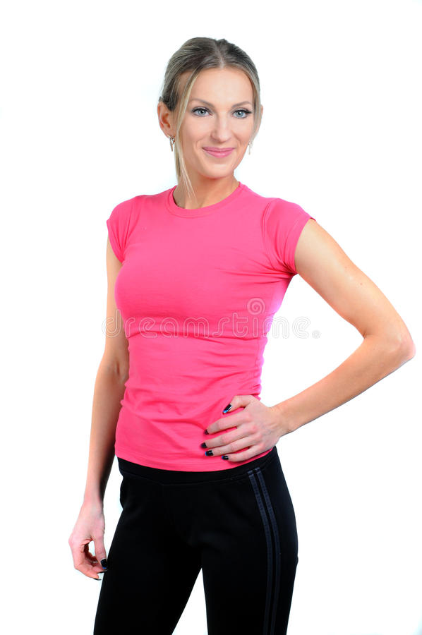 Download Fitness stock photo. Image of human, portrait, smile - 32945834