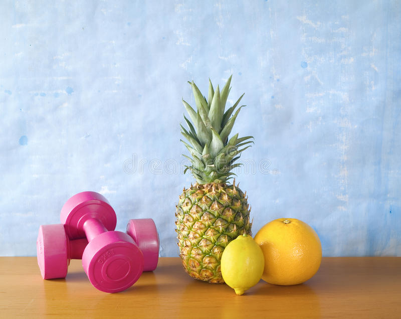 Fitness and health royalty free stock photography