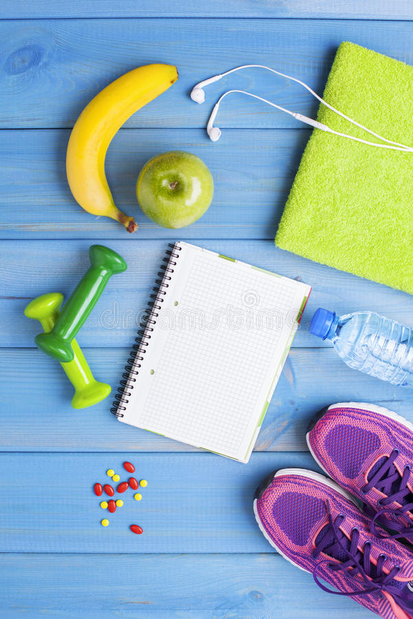 Fitness healthy concept stock photo