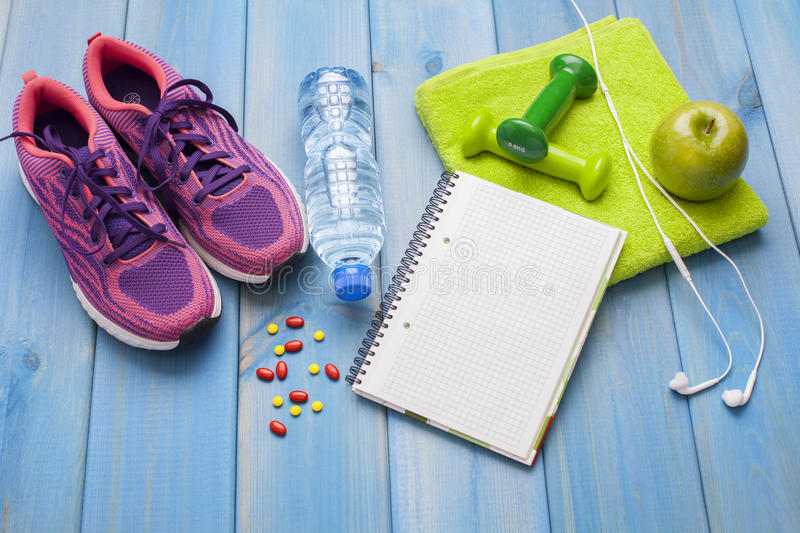 Fitness healthy concept stock image