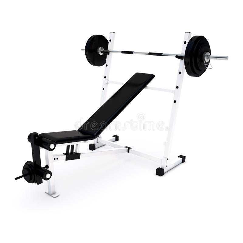 Fitness Home Gym For Regular Sports Training Stock Photo