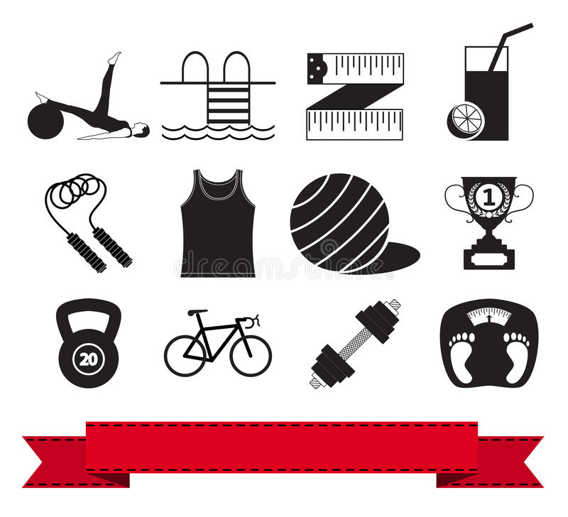 Download Fitness Icon 3 Stock Images - Image: 26549104