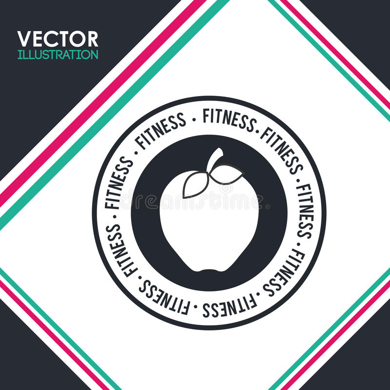 Fitness icon design. Illustration eps10 graphic vector illustration