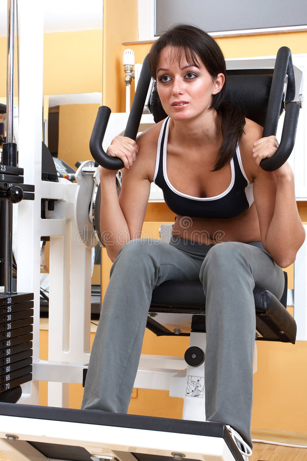 Download Fitness Instructor stock photo. Image of active, pretty - 1419680