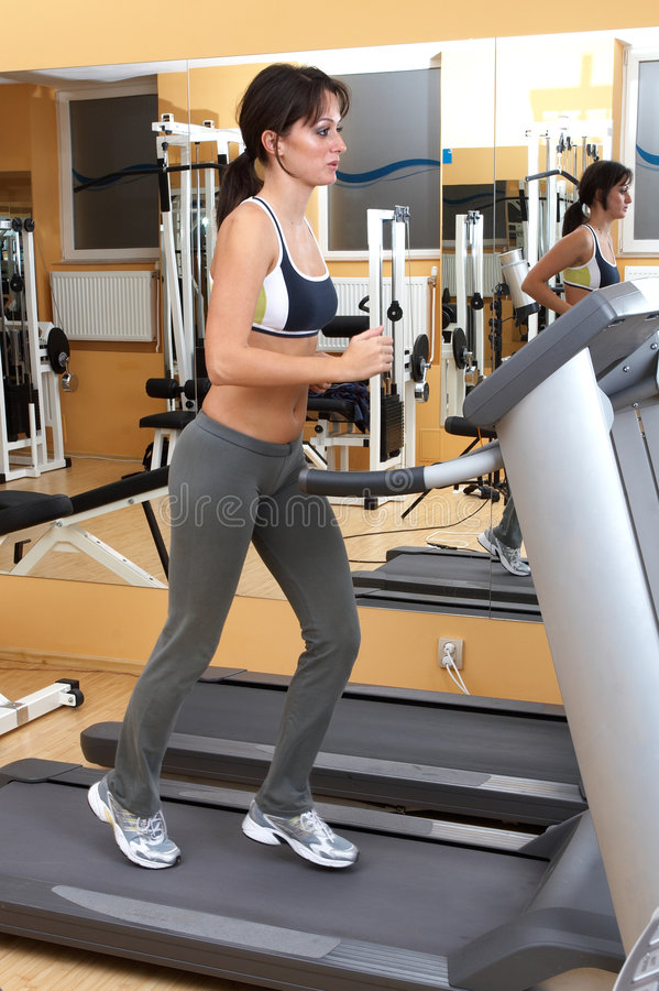 Free Fitness Instructor Stock Image - 1419821