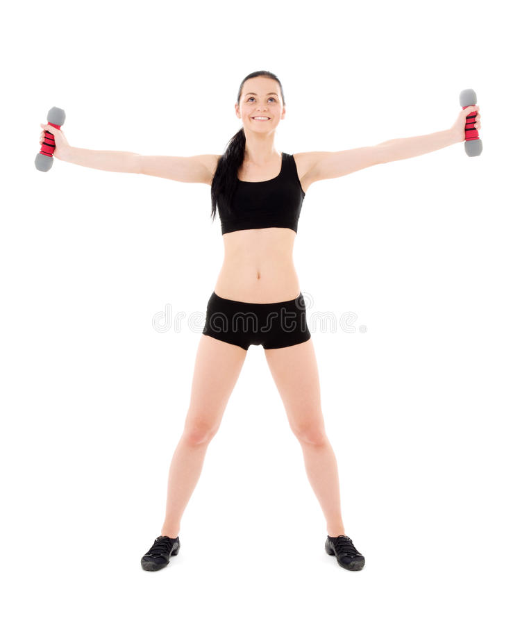 Fitness instructor stock images