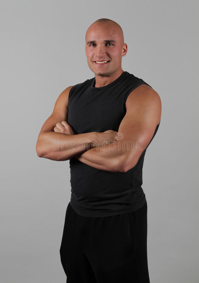Fitness Instructor Smiling Stock Images