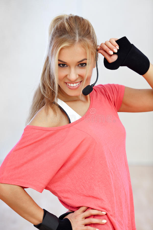 Download Fitness Instructor Royalty Free Stock Images - Image: 34022709