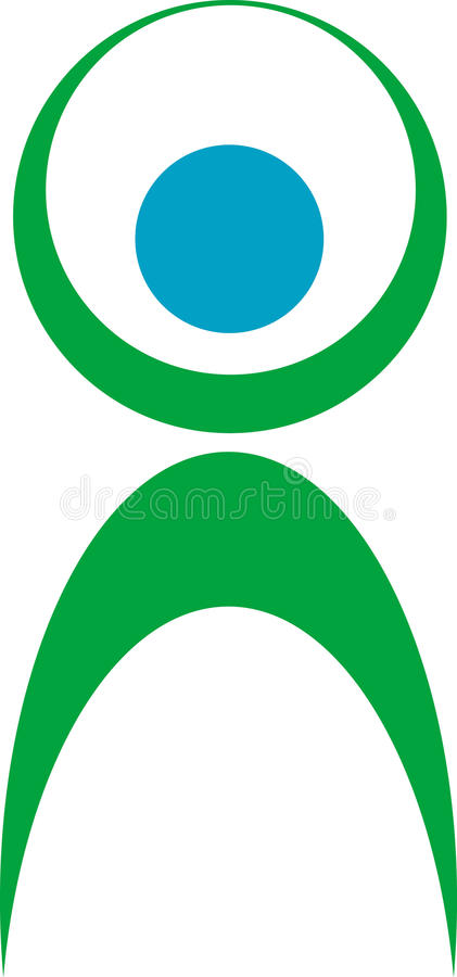 Fitness Logo Royalty Free Stock Image