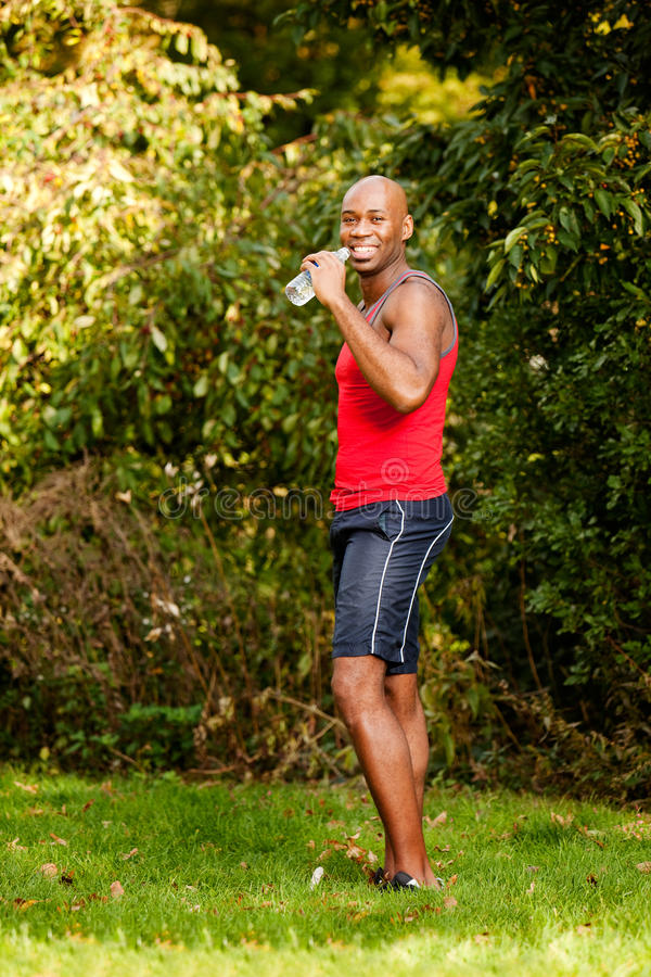 Download Fitness Man stock photo. Image of break, adult, refreshment - 11663676