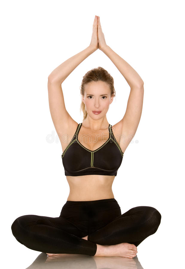 Download Fitness model stock photo. Image of happy, life, sitting - 10594864