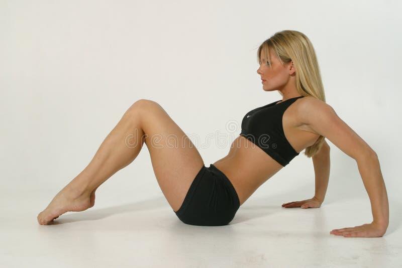 fitness model στοκ φωτογραφία με δικαίωμα ελεύθερης χρήσης