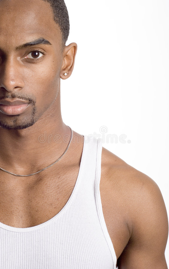 Download Fitness model stock image. Image of male, black, muscular - 4348587