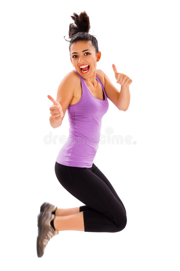Fitness is My Life royalty free stock photo