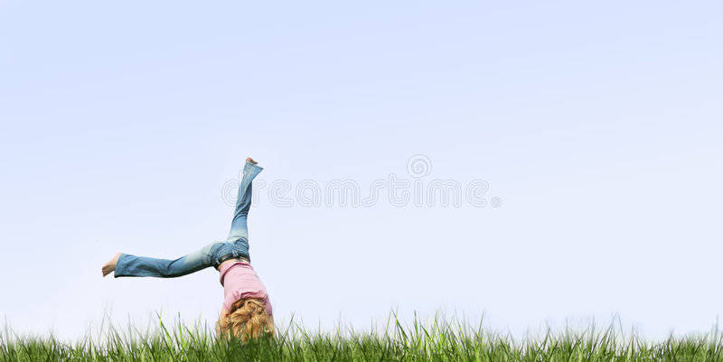 fitness outdoor stock image