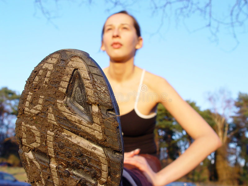 Fitness outdoor royalty free stock photo