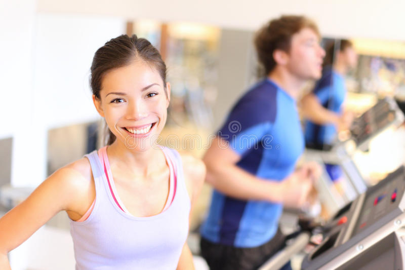 Download Fitness People Portrait In Gym Stock Photo - Image of center, machine: 23634290
