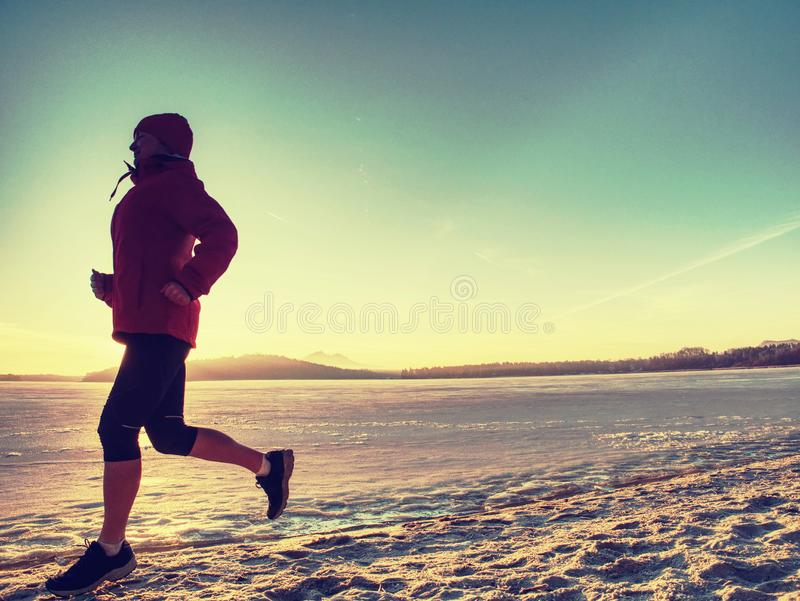 Fitness people, sport and healthy lifestyle concept - run woman stock images