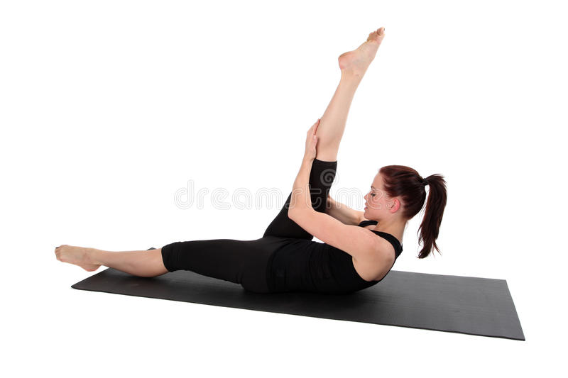 Fitness - Pilates royalty free stock image
