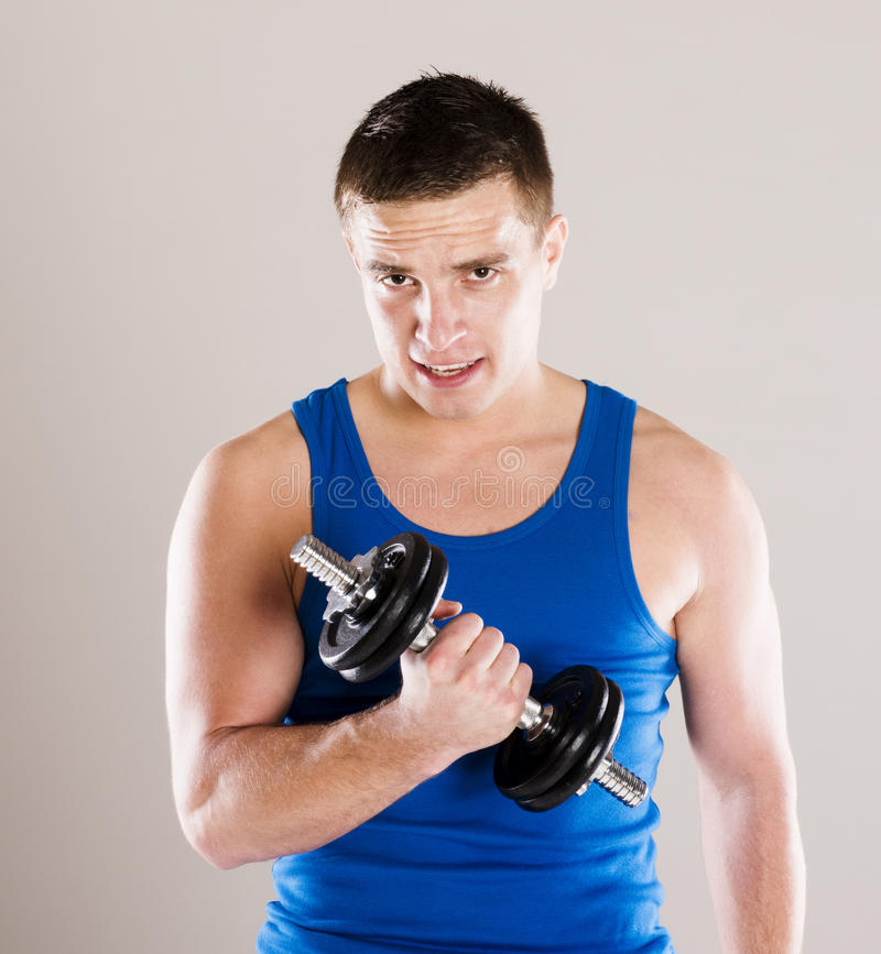 Download Fitness Portrait Stock Photo - Image: 34988460