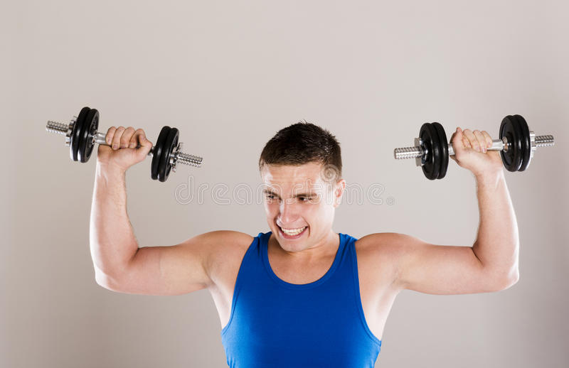 Download Fitness portrait stock image. Image of male, person, fitness - 34988497