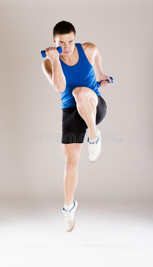 Download Fitness portrait stock photo. Image of isolated, slim - 34988600