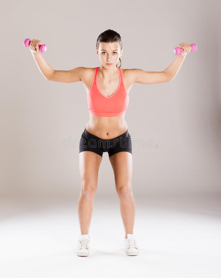 Download Fitness portrait stock image. Image of body, equipment - 34987997