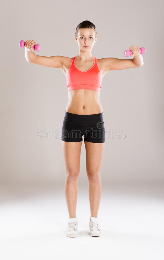 Download Fitness portrait stock image. Image of training, healthy - 34988033