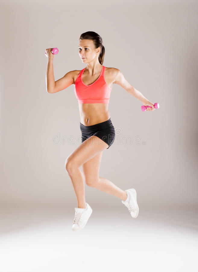 Download Fitness portrait stock image. Image of sporty, caucasian - 34988465