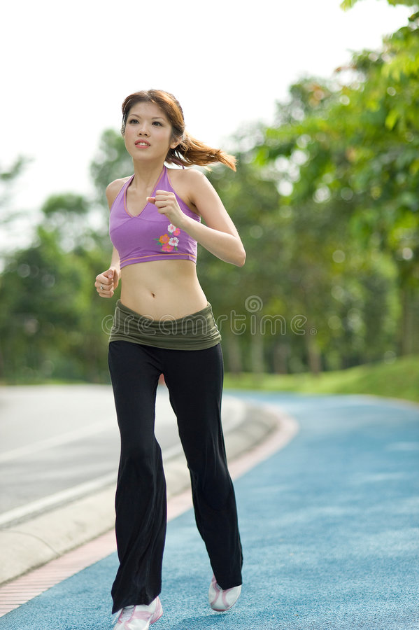Free Fitness Series Jogging Royalty Free Stock Image - 9303756