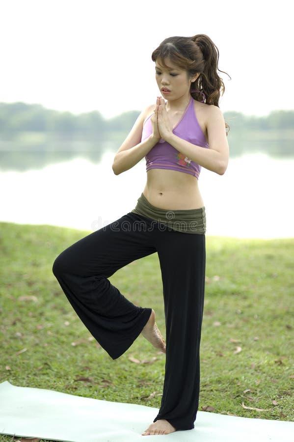Free Fitness Series Meditation Royalty Free Stock Photos - 9231208