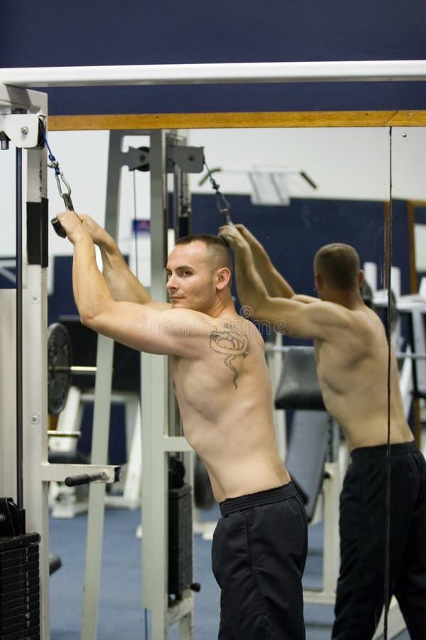 fitness siłowni fizycznej szkolenia fotografia royalty free
