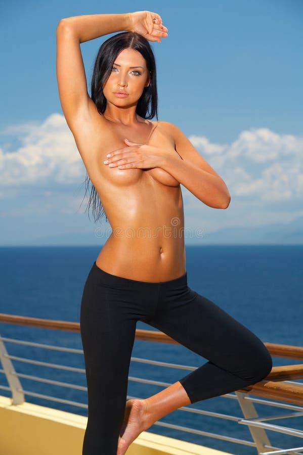 Fitness and Swim royalty free stock photos
