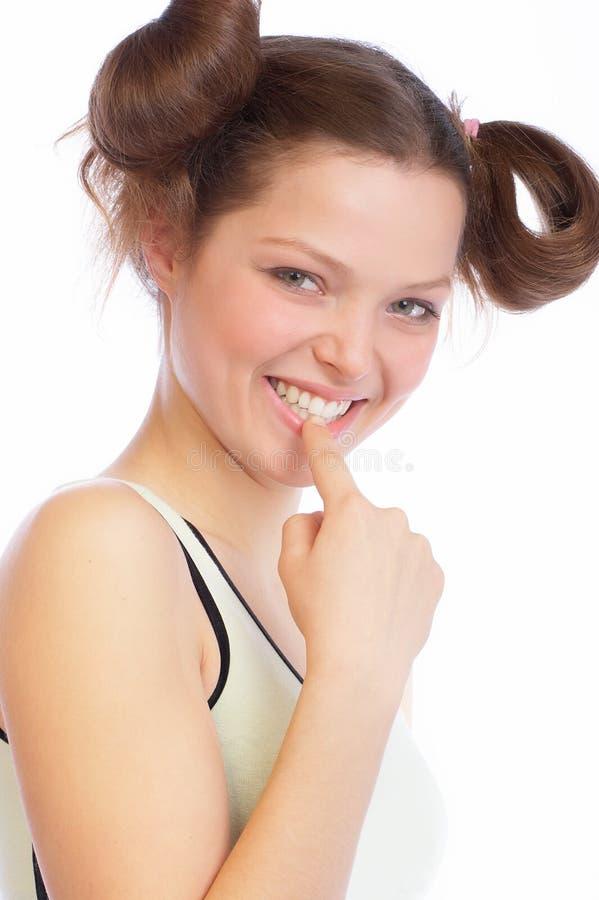 Fitness Teen stock photo