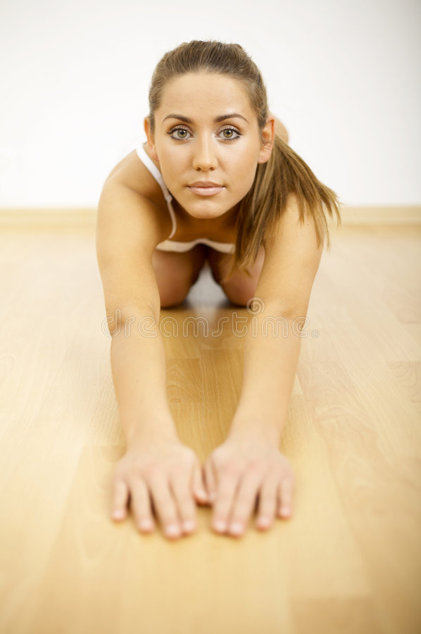 Download Fitness Time stock photo. Image of slimming, undressed - 2674444