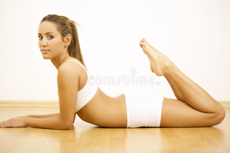 Download Fitness Time stock photo. Image of lifestyle, shape, cellulite - 3648336
