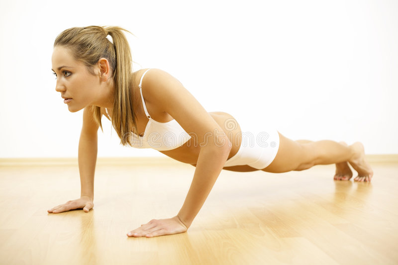 Fitness Time royalty free stock photography