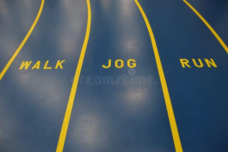 Fitness Track stock photo
