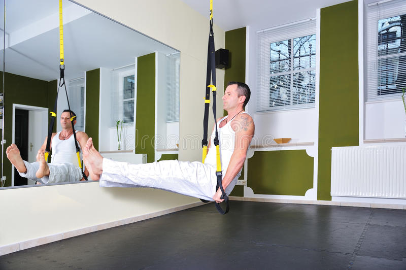 Download Fitness trainer stock image. Image of bodybuilding, gymnastic - 24879861