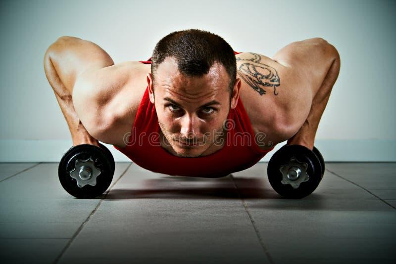 Fitness training stock photos