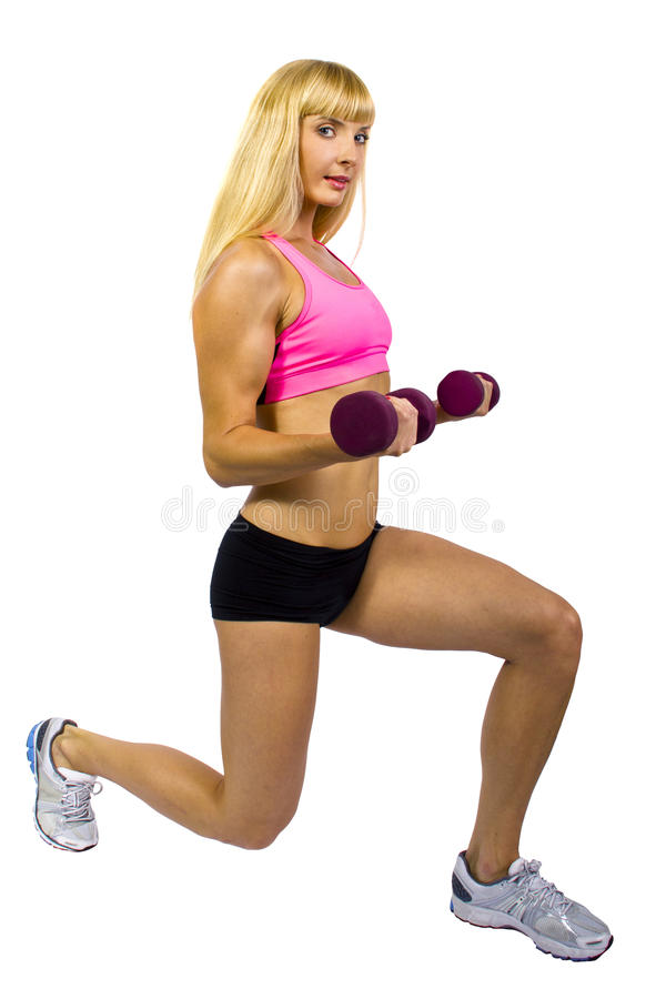 Download Fitness Training With Dumbbells Stock Photo - Image: 27880400