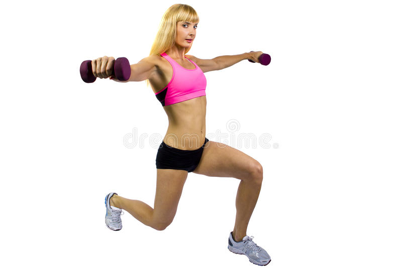 Download Fitness Training With Dumbbells Stock Image - Image: 27880419