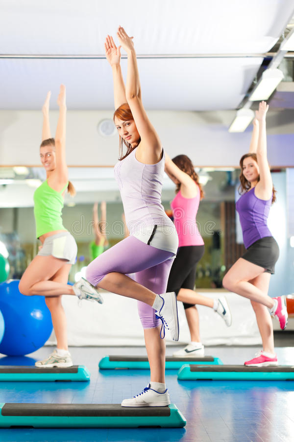 Download Fitness - Training And Workout In Gym Royalty Free Stock Image - Image: 24233266