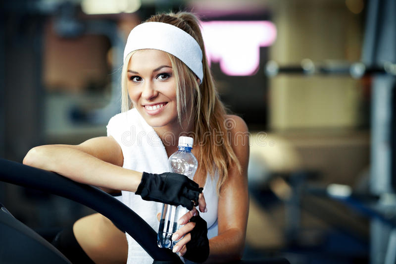 Download Fitness On A Treadmill Royalty Free Stock Photo - Image: 34049185
