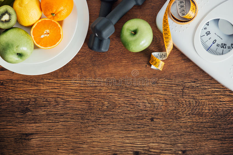 Fitness and weight loss stock photography