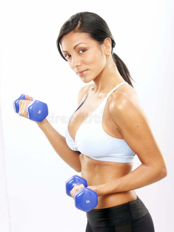 Fitness Woman. Royalty Free Stock Image