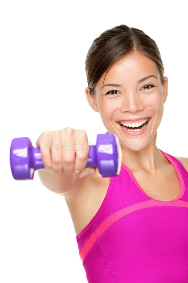 Download Fitness woman stock image. Image of bell, energy, energetic - 20554075