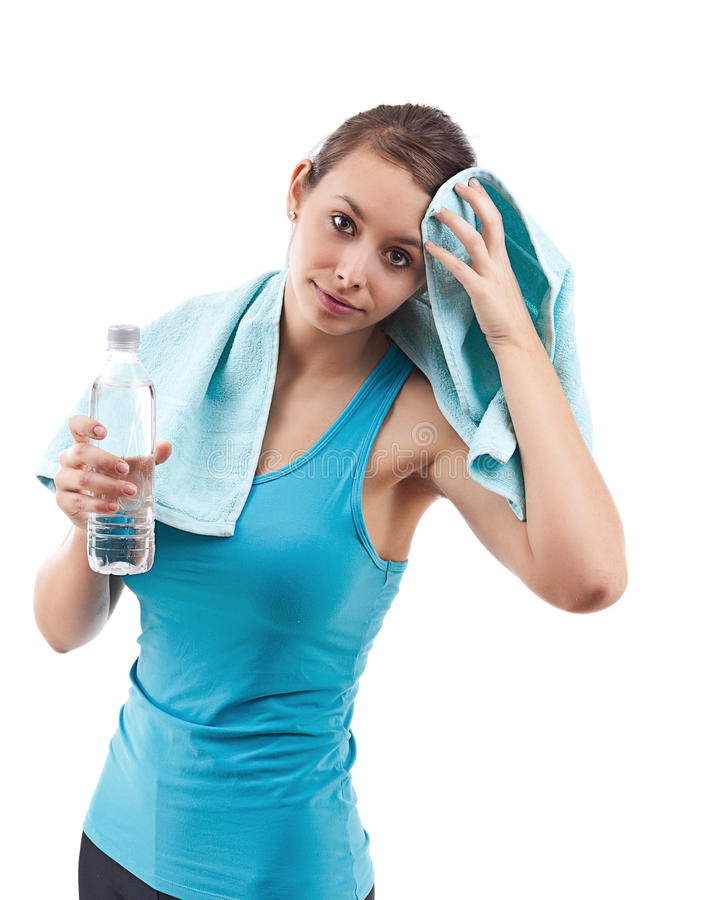 Download Fitness Woman stock image. Image of happy, healthy, hand - 23026661