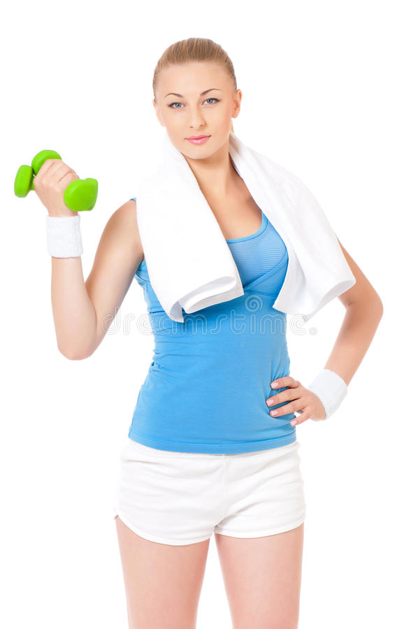 Download Fitness woman stock photo. Image of body, indoors, gymnastics - 36959452